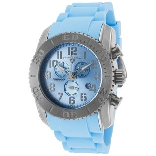 Swiss Legend Men's SL-11876-TI-012 Commander Light Blue Watch