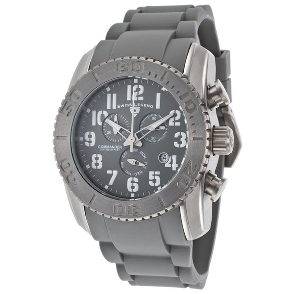 Swiss Legend Men's SL-11876-TI-014 Commander Grey Watch