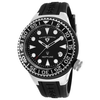 Swiss Legend Men's SL-11044D-01-NB Neptune Black Watch