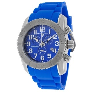 Swiss Legend Men's SL-11876-TI-03 Commander Blue Watch