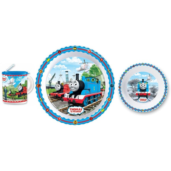 Pecoware Thomas the Tank 3-piece Dinnerware Set