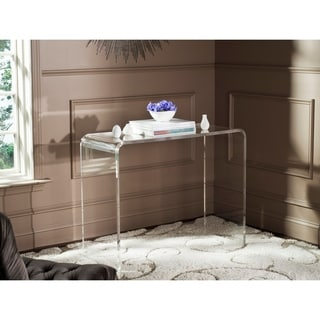 Safavieh Atka Clear Acrylic Console Table