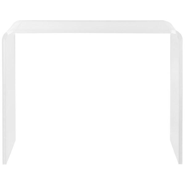 Safavieh Atka Clear Acrylic Console Table