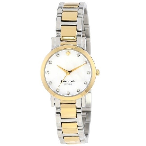 Kate Spade New York Women's 1YRU0147 'Gramercy Mini' Two Tone Stainless Steel Watch