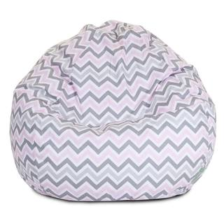 Majestic Home Goods Pink Zoom Zoom Small Classic Bean Bag