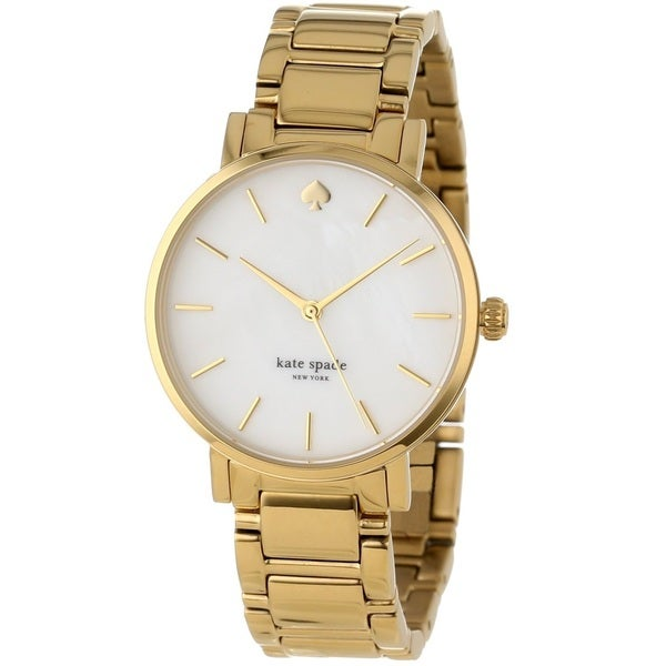 Kate Spade New York Women's 1YRU0002 'Gramercy' Gold Tone Stainless Steel Watch