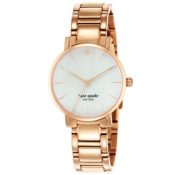 Kate Spade New York Women's 1YRU0003 'Gramercy' Rose Gold Tone Stainless Steel Watch