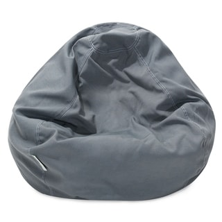 Majestic Home Goods Gray Small Classic Bean Bag