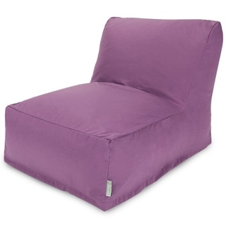 Majestic Home Goods Lilac Bean Bag Lounger Chair