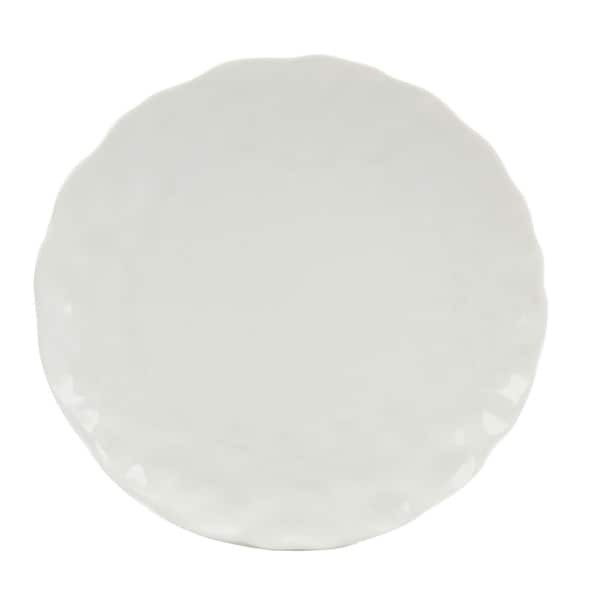 Red Vanilla Marble 6.25-inch Bread and Butter Plates (Set of 6)