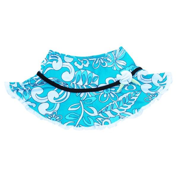 Azul Swimwear Girls 'Surfing Frills' Swim Skirt