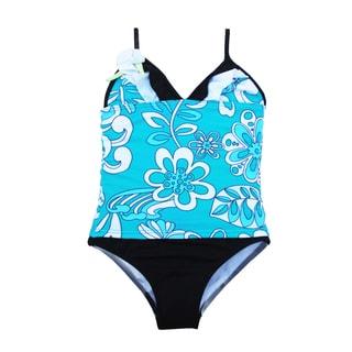 Azul Swimwear Girls 'Surfing Frills' Tankini Set