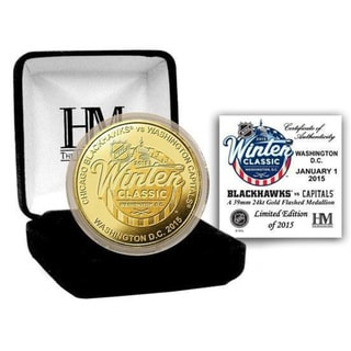2015 NHL Winter Classic Gold Mint Coin