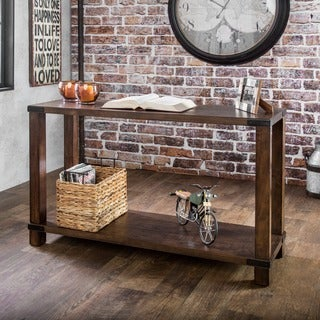 Furniture of America Royce Modern Industrial Sofa Table
