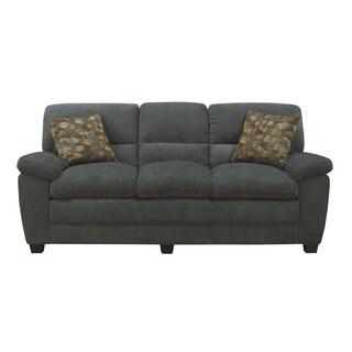Emerald Nala Greenish Blue Sofa