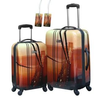 National Geographic Explorer 'Bridge' 2-piece Hardside Spinner Luggage Set