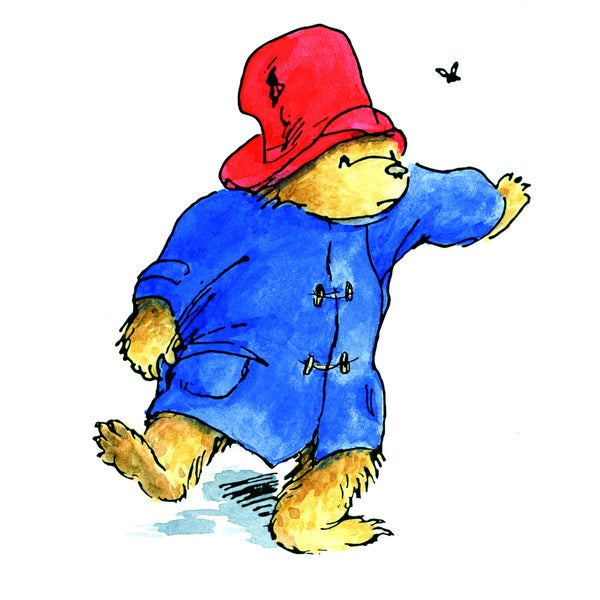 Peggy Fortnum 'Paddington Bear Shoo Fly' Canvas Art