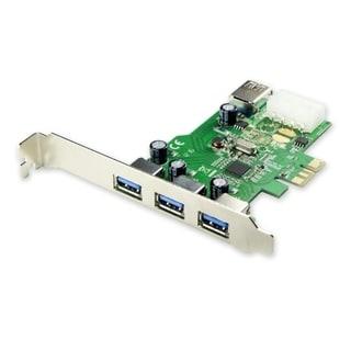 Syba PCI-Express USB 3.0 3+1 Port Card Renesas Chipset with LPB Molex Power