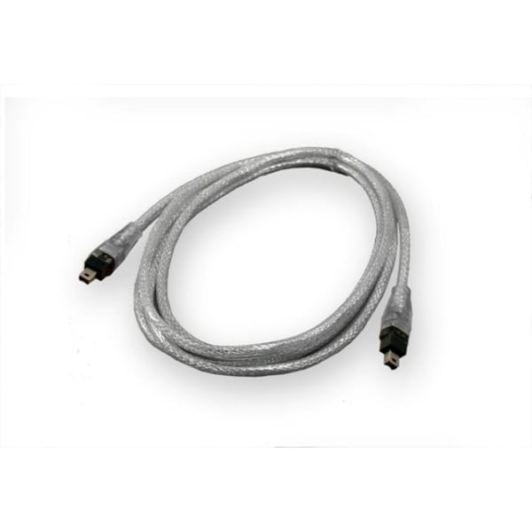 IOCrest Firewire Silver 1394a 6-foot 4 pin to 4 pin Cable