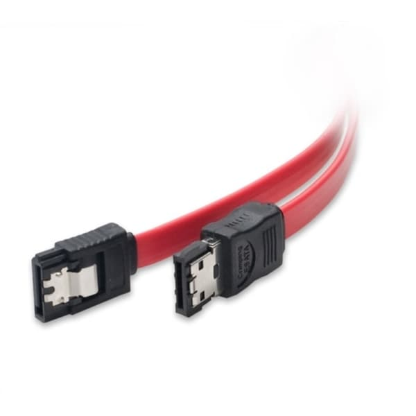 IOCrest 19-inch Red Serial ATA SATA to e-SATA Converter Extension HDD Cable