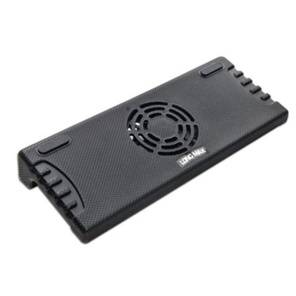 Syba Black USB Notebook Cooler Stand For 9-inch-12-inch Laptop With Fan