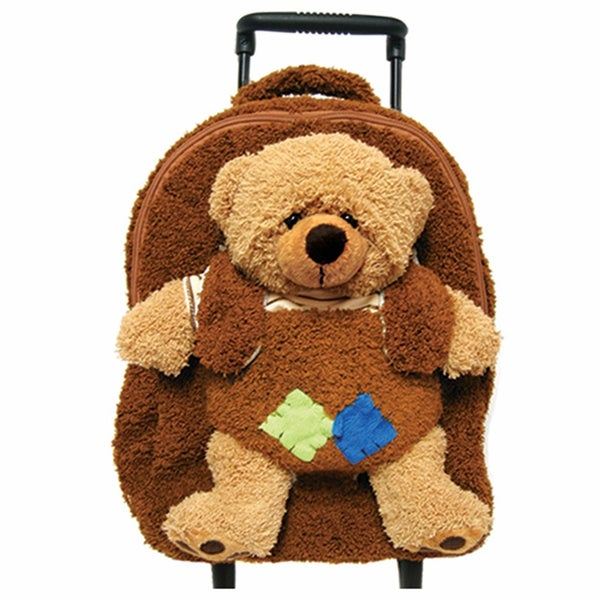 Best Buddy Little Brown Bear Rollerbag/ Backpack