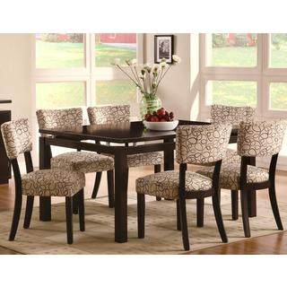 Luxenberg Cappuccino 7-piece dining set