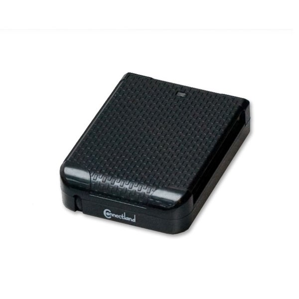Connectland USB 2.0 Black Memory Card Reader 5 Slots All-in-1 High Speed
