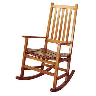 Oriental Mission Porch Style Rocking Chair