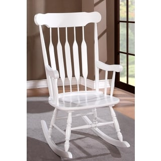 Windsor Arrow Back Country Style Rocking Chair