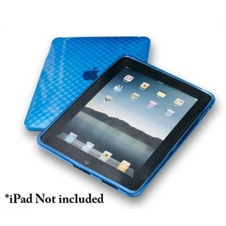 Connectland Blue Anti-slip TPU Skin Case For Apple iPad 1st Generation