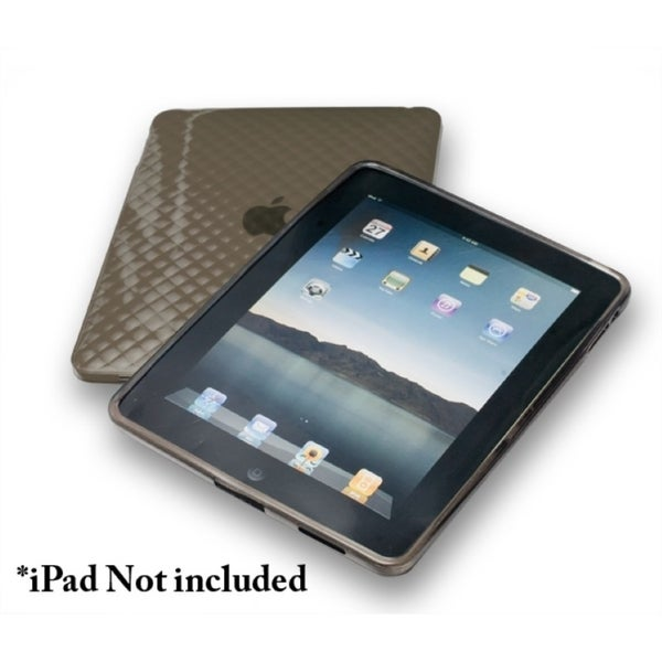 Connectland Black Anti-slip TPU Skin Case For Apple iPad 1st Generation
