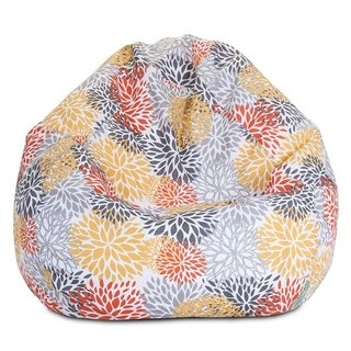 Majestic Home Goods Citrus Blooms Small Classic Bean Bag