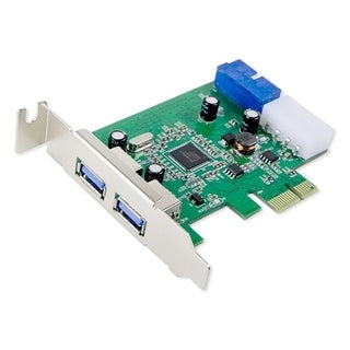 IOCrest USB 3.0 2-port Header PCIe Card LPB Mole Power and Etron Chipset
