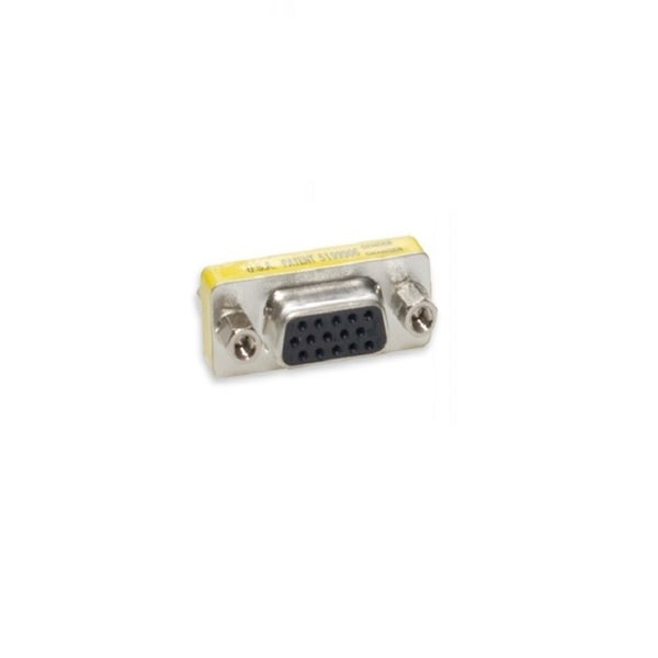 Connectland VGA 15 Pin HD15 Female to Female F/F Connector Adapter