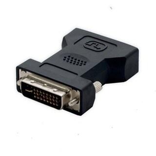 Connectland DVI Male 24+1 pin to VGA Female 15 pin Adapter Converter