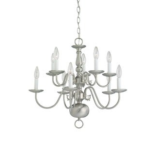 10-light Traditional Chandelier