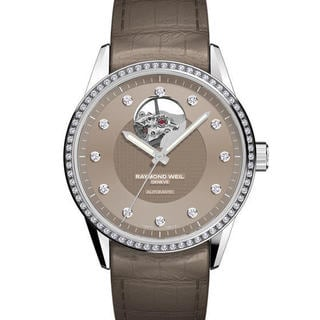Raymond Weil Women's 2750-SLS-70081 Freelancer Autumn Brown Leather Watch