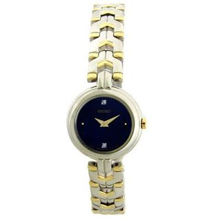 Seiko Women's SUJF43 Two Tone Diamond Dress Watch