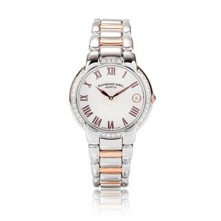 Raymond Weil Women's 5235-S5S-01658 Jasmine Diamond Watch