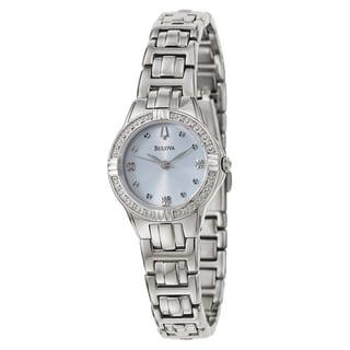 Bulova Women's 96R172 'Diamonds' Stainless Steel Quartz Watch