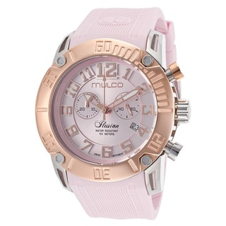 Mulco Women's 'Ilusion' Two Toned Steel Watch