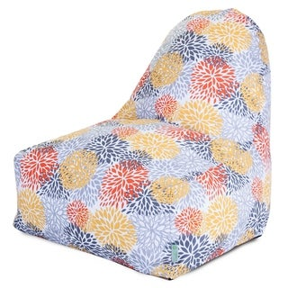 Majestic Home Goods Outdoor Indoor Citrus Blooms Kick-It Chair