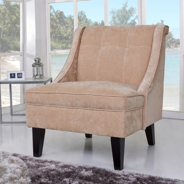 Gold Sparrow Kansas Tan Accent Chair