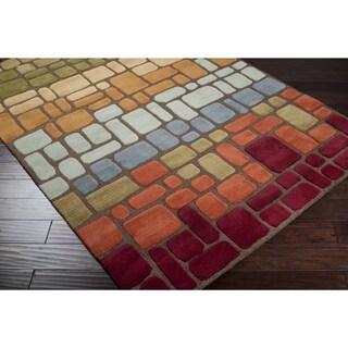 Hand Tufted Braelyn Wool Rug (5' x 8')