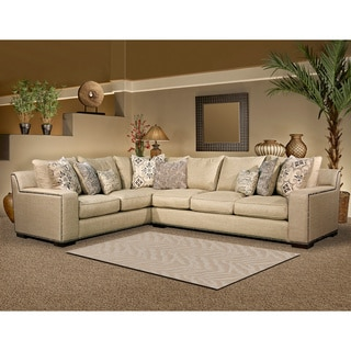 Furniture Of America Rosille Contemporary Beige Fabric L