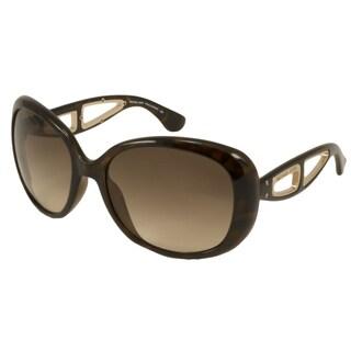 Michael Kors Women's MKS664 Sanibel Rectangular Sunglasses