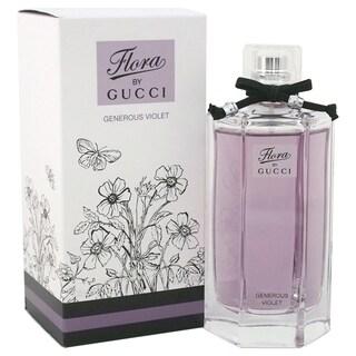 Gucci Flora Generous Violet Women's 3.3-ounce Eau de Toilette Spray