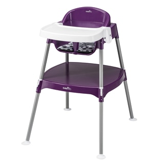 Evenflo Mini-meal High Chair in Dottie Grape