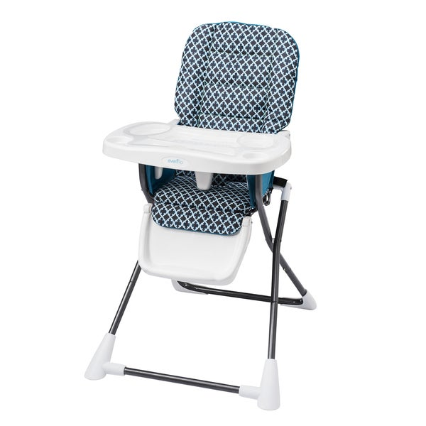 Evenflo Compact Fold High Chair in Monaco